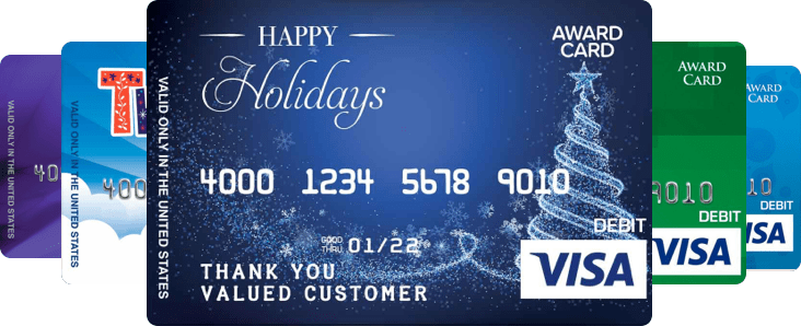 physical visa gift cards