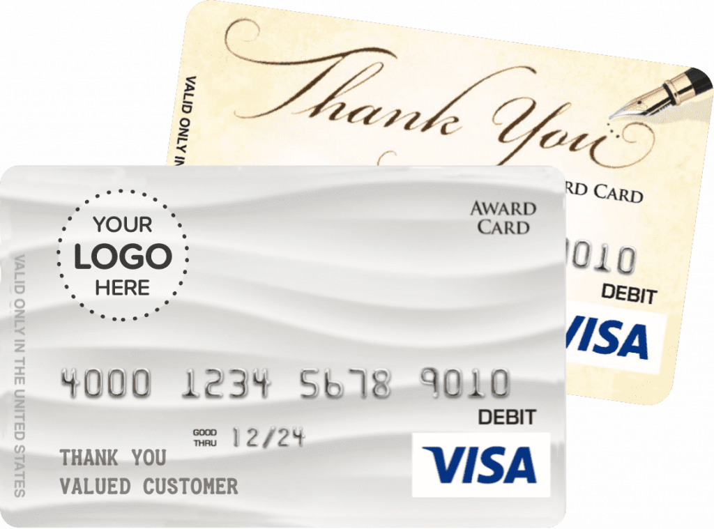 custom visa cards with your logo